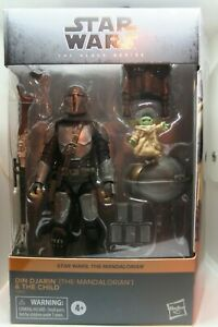 Star Wars Black Series The Mandalorian Din Djarin and The Child Target IN HAND