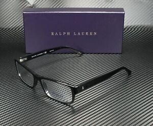 RALPH LAUREN POLO PH2065 5001 Shiny Black Demo Lens 54 mm Men's Eyeglasses