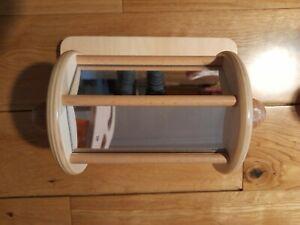 montessori spinning mirror drum