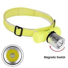 Waterproof 6000LM XMLT6 LED Diving Flashlight Torch Light Underwater Headlamp NG