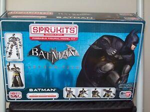 BANDAI JAPAN - SPRUKITS - Arkham City Batman- FIGURE MODEL KIT LEVEL 3  New