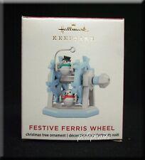 HALLMARK Festive Ferris Wheel Miniature Ornament NIB 2020