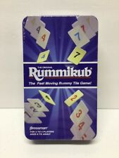 The Original Rummikub The Fast Moving Rummy Tile Game! NEW with Travel Tin