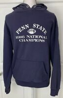 PENN STATE Vintage Sweatshirt 1986 Football National Champions Size XL Paterno