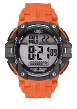Limit Gents Digital Sports Watch with Orange Strap 5706