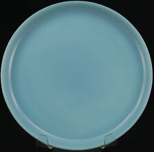 Anchor Hocking Blue Turquoise Azurite Fire King Small Dinner Luncheon Plate