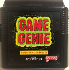 Game Genie Video Game Enhancer (Sega Genesis,1992), Authentic, Tested, Working