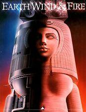EARTH, WIND & FIRE 1981 RAISE! TOUR CONCERT PROGRAM BOOK / MAURICE WHITE