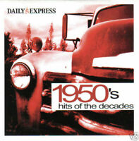 Daily Express 1950's Hits Of The Decades CD