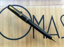 New ListingOmas Arte Italiana Milord Black Chased Mechanical Pencil New Factory Condition*