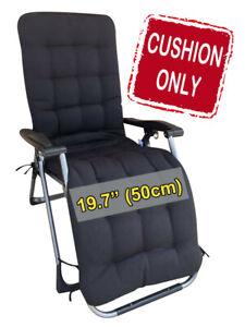 """FOUR SEASONS (CUSHION ONLY) for Regular Wide (19.7"""") Zero Gravity Chair Recliner"""