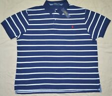 Neu Mittelgroß M Polo Ralph Lauren Herren Hemd Kurzarm Klassisch Für Top Blau
