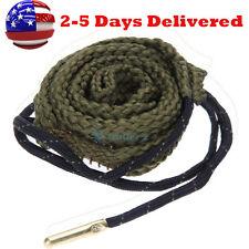 HOT~ Bore Snake Gun Cleaning .38 Cal .357 Cal .380 Cal & 9mm Boresnake Cleaner