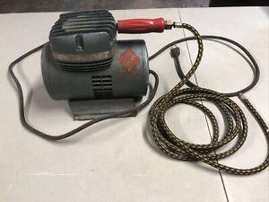 Vintage Passche Airbrush Compressor