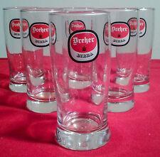 Collezione Set 6 Bicchieri Birra Dreher Vintage Anni 60/70 NUOVI MAI UTILIZZATI