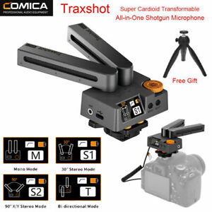 Comica Traxshot Super Cardioid Transformable Shotgun Microphone For DSLR Cameras
