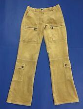 Enjoy donna pantalone velluto w28 tg 42 bootcut gamba larga usato svasati T2937
