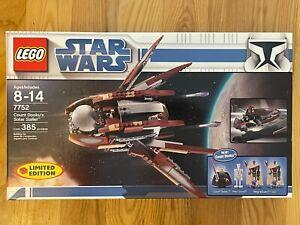 LEGO Star Wars 7752 Count Dooku's Solar Sailer - Employee Collection - see desc.