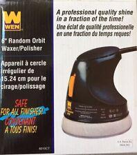 Car Waxer/Polisher - Wen, 6'', electric, random orbit, w. 13 polishing bonnets