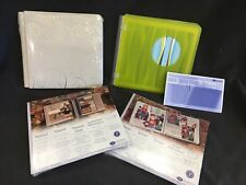 Creative Memories New Lot 2 7x7 Albums + 2 Scrapbook Pages Natural, Spargo + Pgs