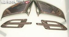 NEW Bentley Bentayga Carbon Fibre Mirror Covers +Side Wings Genuine OEM 4pcs set