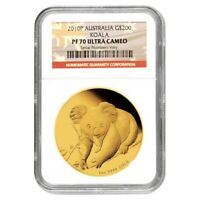 2010 P 2 oz Proof Gold Koala Australia Perth Mint NGC PF 70 UCAM