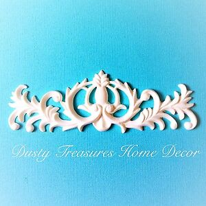 1x Shabby Chic French Furniture Moulding Furniture Applique Carving Onlay