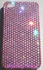 BABY PINK Crystal Rhinestone Back Case for iPhone 5 5S made w/Swarovski Elements