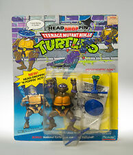 Teenage Mutant Ninja Turtles: Headdroppin Don Playmates 1991-MOC