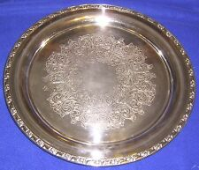 Oneida Large Silverplate Tray - SHIPPING INCLUDED