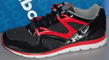 MENS REEBOK OMNI RUN IN COLORS BLACK / EX RED / GREY / STEEL SIZE 9