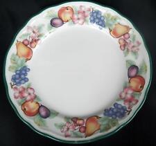 4 EPOCH (NORITAKE) MARKET DAY SALAD PLATES FRUIT