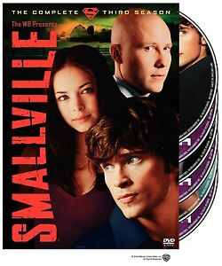 Brand New DVD Smallville: The Complete Third Season Tom Welling Kristin Kreuk 03