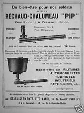 1916 advertisement rechaud torch pip tito landi welfare for our soldiers