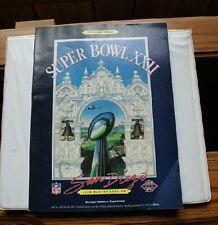 Old Vintage 1988 Super Bowl XXII San Diego Wash Redskins Denver Broncos Program