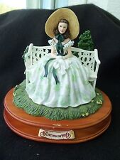 Gone with the Wind Scarlett on Bench! Musical! San Fran Music Box! Tara'S Song