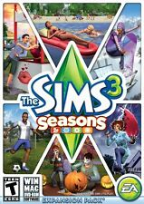 The Sims 3: Seasons - Expansion Pack [PC-DVD MAC Computer, Life Simulation] NEW