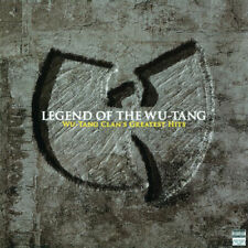 WU - TANG CLAN  LEGEND OF THE WU-TANG MUSIC ON VINYL CLEAR 180G VINYL NEW SEALED