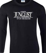 Long Sleeve Hip Hop Basic T-Shirts for Men