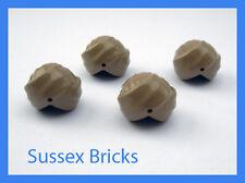 Lego City - 4x Dark Tan Turban Headgear Minifigure Persia Sikh Desert New Pieces
