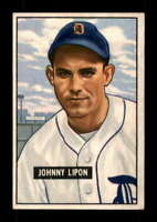 1951 Bowman #285 Johnny Lipon EX+ RC Rookie Tigers 401529