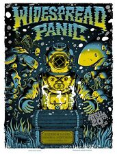 Widespread Panic 4/20/2016 Poster Chattanooga TN Signed A/P