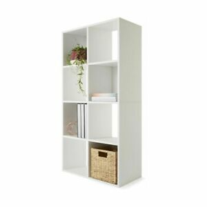 Display Shelf 8 Cube Storage Cabinet Organiser Bookshelf Case Unit Brand New T1