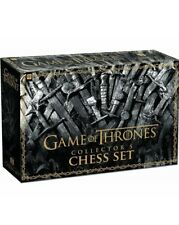 GAME OF THRONES COLLECTOR'S CHESS SET NEW SEALED