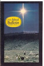 national geographic-SCHOOL BULLETIN-dec 9,1968-SHEEP AND SHEEPHERDERS...........