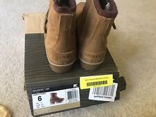 New With Box Sorel Meadow Zip Ankle BOOT Size US 6 Waterproof