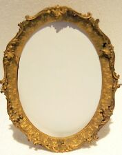 FRENCH GILT DORE BRONZE PICTURE FRAME BY MARSHALL FIELD  & CO CHICAGO WITH EASEL