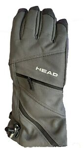 Head Men's Dupont Sorona Insulated SKI Glove W Pocket Charcoal