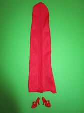 149) VECCHIA VINTAGE BARBIE MOD-Best Buy FASHION ABITO #2087 MATTEL 1984+ Scarpe ALT