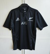 MINT! ALL BLACKS NEW ZEALAND 2014/2015/16 RUGBY HOME SHIRT JERSEY ADIDAS SIZE L